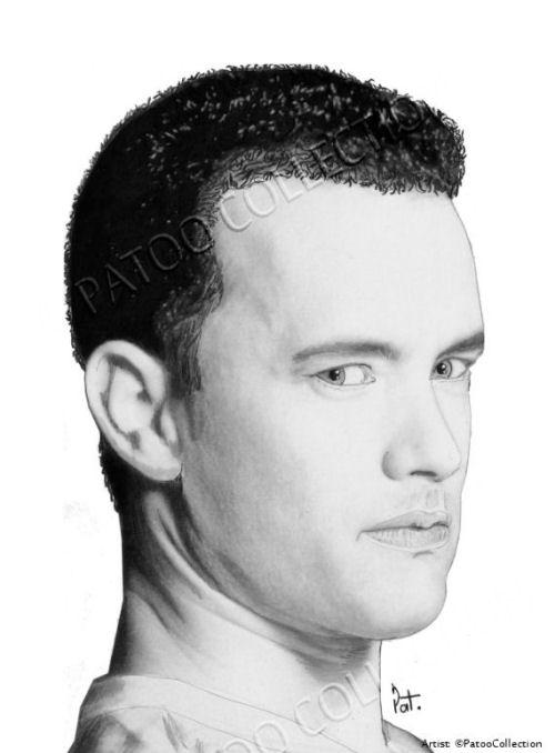 Tom Hanks by dedrika